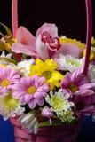 Bouquet de fleurs et de feuilles Photo libre de droits