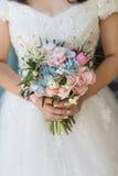 Bouquet de jeunes mariées Photo stock