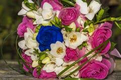 Bouquet de jeunes mariées Images libres de droits