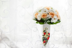 Bouquet de la jeune mariée image stock