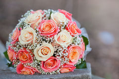 Bouquet de la mariée Photo libre de droits