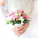 Bouquet de mariée Photographie stock