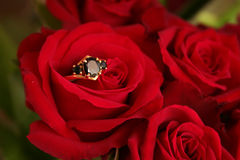 Bouquet de mariage images libres de droits