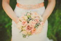 Bouquet de mariage Photos libres de droits