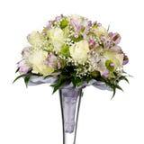 Bouquet de mariage d'isolement sur le fond blanc Photos libres de droits