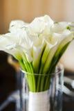 Bouquet de mariage dans le vase Photo libre de droits