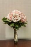 Bouquet de mariage de belles roses Photo libre de droits