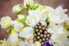 Bouquet de mariage Fleurs du ` s de jeune mariée Images libres de droits