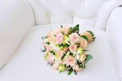 bouquet de mariage, fleurs, roses, Photo stock
