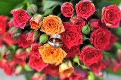 bouquet de mariage, fleurs, roses, Photo libre de droits