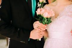 Bouquet de mariage, fleurs, roses, beau bouquet Photo stock