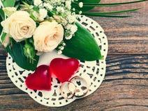 Bouquet de mariage, fond Image stock