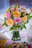 Bouquet de mariage ou de fleur de décoration Photo libre de droits
