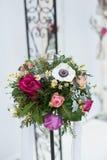 Bouquet de mariage pour la jeune mariée Image libre de droits