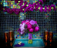 Bouquet de mariage pour la mariée Photographie stock libre de droits