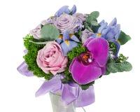Bouquet de mariage pour la mariée des roses Images stock