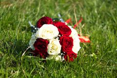 Bouquet de mariage photos stock