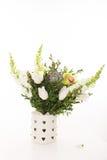 Bouquet de mariage sur le fond blanc Image libre de droits