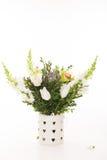 Bouquet de mariage sur le fond blanc Photos stock