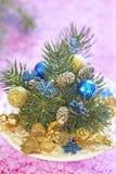 Bouquet de Noël Images libres de droits