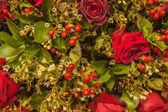 Bouquet de Noël Image libre de droits