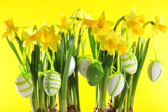 Bouquet de Pâques Images libres de droits