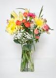 Bouquet de ressort avec la carte Image stock