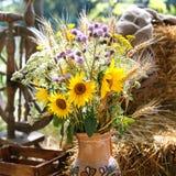 Bouquet de tournesol Photographie stock
