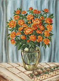 Bouquet de Trollius Illustration Libre de Droits