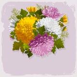Bouquet de vintage Image libre de droits