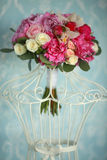 Bouquet with decor Royalty Free Stock Photos