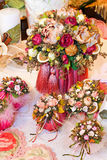 Bouquet decoration Royalty Free Stock Photography