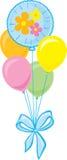 Bouquet des ballons de réception Image stock