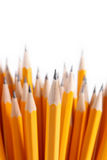 Bouquet des crayons affilés Photo libre de droits