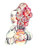 Bouquet des fleurs Photo libre de droits