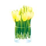 Bouquet des fleurs. illustration de vecteur