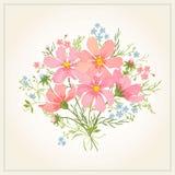 Bouquet des fleurs illustration libre de droits