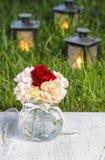 Bouquet des fleurs colorées renversantes d'oeillet Images libres de droits