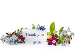 Bouquet des fleurs de source Photographie stock