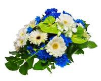 Bouquet des gerberas, des chrysanthemums et de l'anthure Images libres de droits
