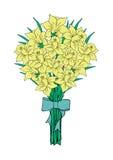 Bouquet des narcisses jaunes Illustration Stock