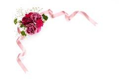 Bouquet des oeillets Photos libres de droits