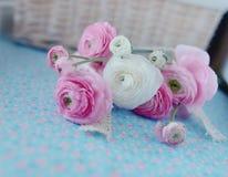 Bouquet des renoncules Image stock