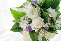 Bouquet des roses blanches Image stock