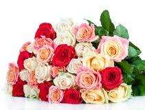 Bouquet des roses de floraison Photos libres de droits
