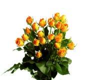 Bouquet des roses jaunes Photos stock