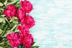 Bouquet des roses rose-clair avec des bonbons Image stock