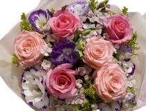 Bouquet des roses roses Photos libres de droits
