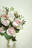 Bouquet des roses roses sensibles Photo libre de droits