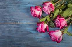 Bouquet des roses rouges images libres de droits